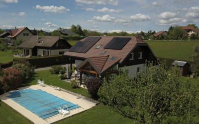 6,375kWc SolarEdge EV-CHARGER + SunPower 375Wc Full Black