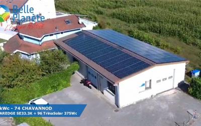 36kWc Solaredge + 96 SunPower 375 +  K2 MultiRail