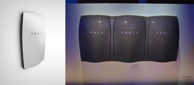 tesla new powerwall battery show solar belle planete. Black Bedroom Furniture Sets. Home Design Ideas